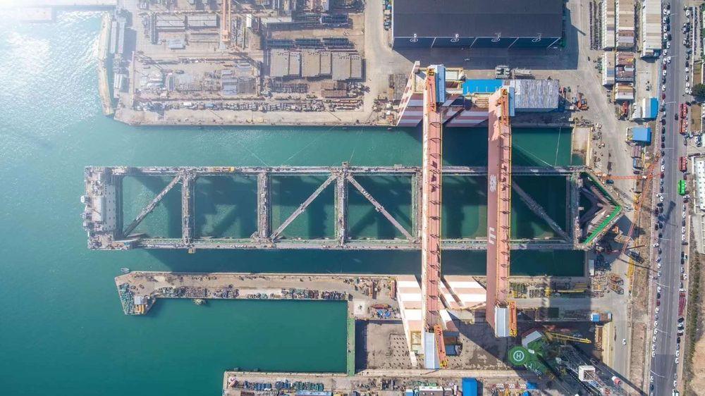 Havfarmen skal etter planen være i Norge til sommeren.