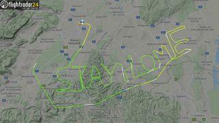 Nå er flytrafikken i fritt fall