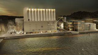 Kruse Smith Kunstsiloen Sørlandets kunstmuseum  Odderøya Kristiansand silokaia