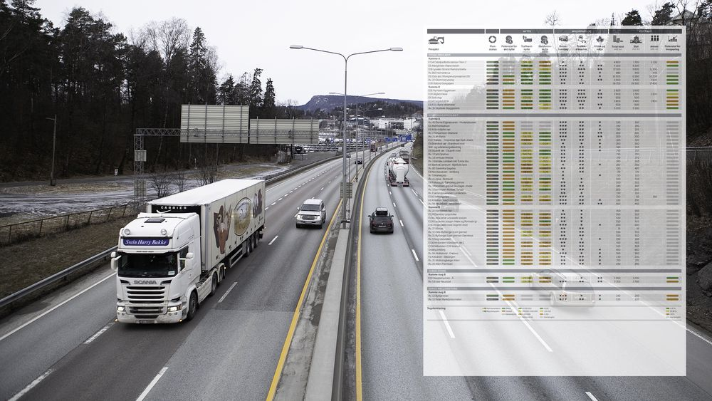 Onsdag sendte Vegvesenet over forslag til hvordan de vil bygge norske veier i neste Nasjonale transportplan til Samferdselsdepartementet.
