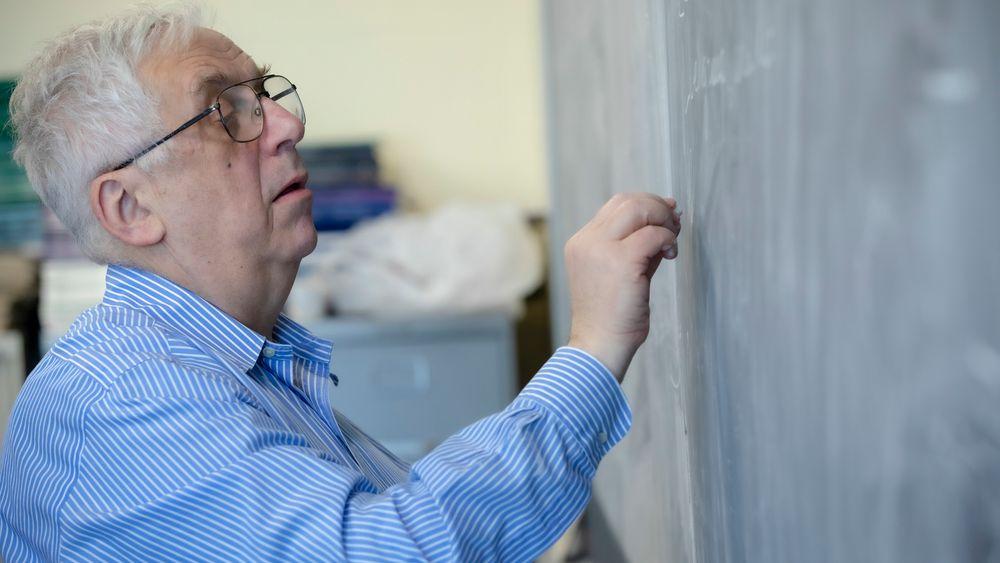 Gregory Margulis (74) utmerket seg allerede i ung alder som en av de fremste matematikerne i Sovjetunionen. Han flyttet senere til USA og Yale University.