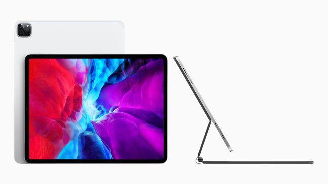 Apples nye Ipad Pro har fått bedre kamera og kan fås med et «magisk» tastatur som får skjermen litt opp i høyden.