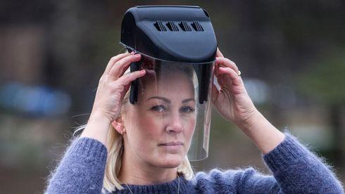 Norsk oppfinner:– Min maske løser mye av helsevesenets behov for beskyttelse