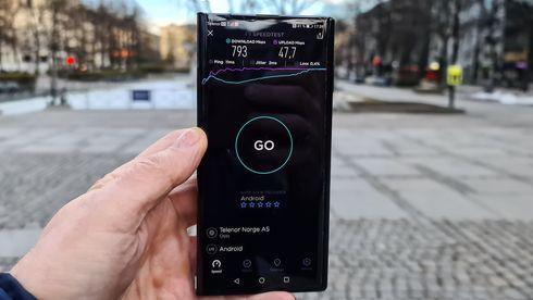 Vi har testet 5G fra Telenor
