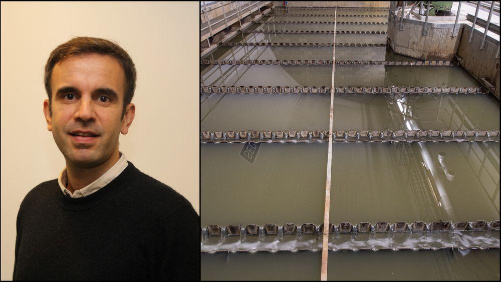 Gjennom å ta  virusprøver i kloakken håper forskerne å kunne avsløre spredning av koronaviruset før folk har begynt å få symptomer. Det kan hjelpe til å stoppe spredning tidligere. Jose Antonio Baz Lomba er forsker ved Norsk Institutt for Vannforskning (NIVA).