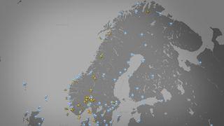 Unikt kart: Se alle norske flyvninger akkurat nå