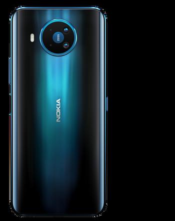 Nokia 8.3 5G fås i en farge kalt Polar Night, som skal være inspirert av den polare vinternatten.