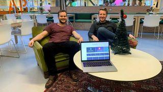 Per Harald og Sindres suksess har over 100.000 brukere i uka: Nå gir de bort norsk kurs i webutvikling