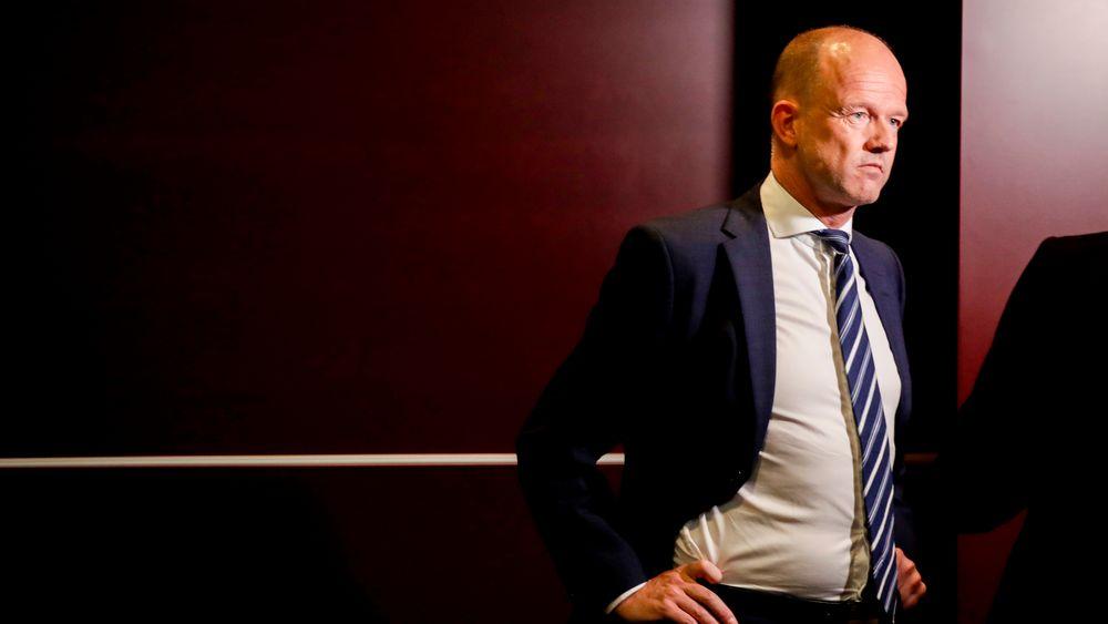 Administrerende direktør Ole Erik Almlid i NHO mangler ord for koronakrisen. Flere bedrifter vurderer å permittere ansatte. Allerede har halvparten av NHOs bedrifter gjennomført permitteringer.