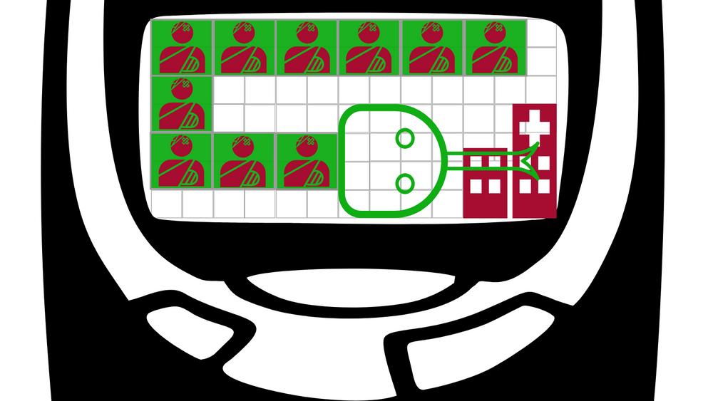 Mobilspill-klassikeren Snake kan brukes til å forklare korona-krisen og hvordan den håndteres.