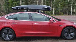 Da Peter Fritzson snudde takboksen, brukte hans Tesla 3 mye mindre energi.