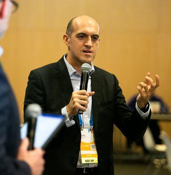 Tiago Rodrigues under Cisco Live i januar 2020.