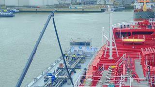 Tester 100 prosent biodrivstoff på et tankskip:Frityrolje på tanken erstatter marin diesel