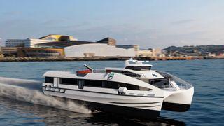 Krisepakke sparker i gang nullutslipps hurtigbåt