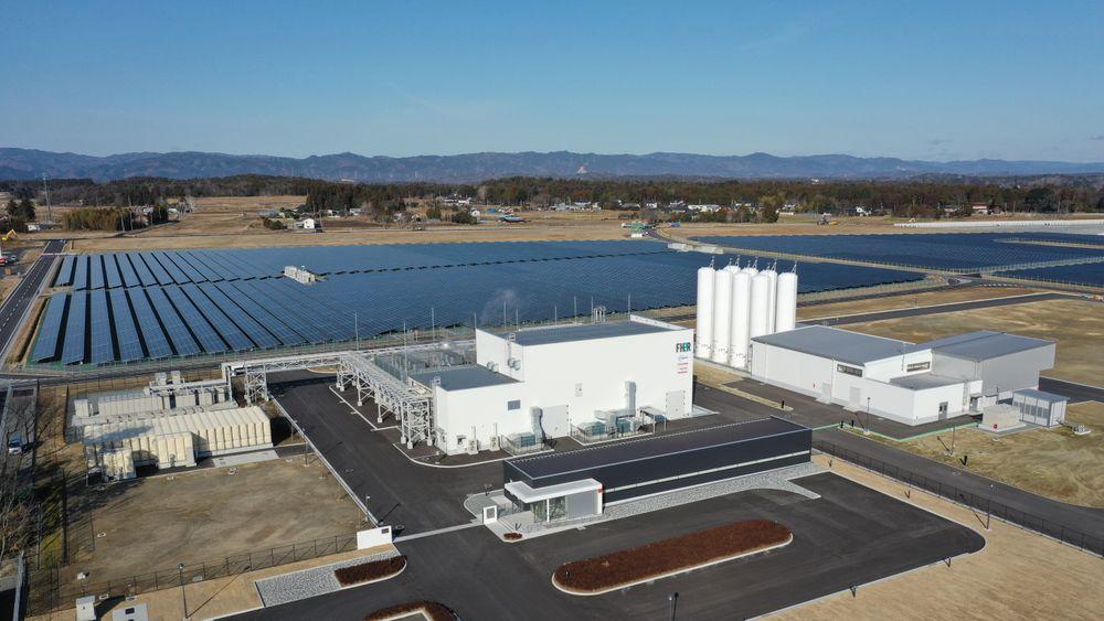 Anlegget i Fukushima skal være det største av sitt slag i hele verden.