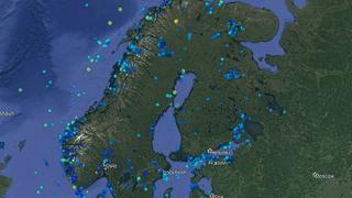 Norsar soneringskart jordskjelv Multiconsult DiBK Norsk Standard Tek