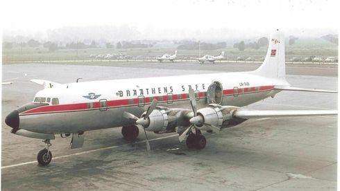 Korona og dollarkurs ødela for det gamle Braathens-flyet