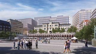 D-blokka er det aller største bygget i det nye regjeringskvartalet. Nå er jobben tildelt