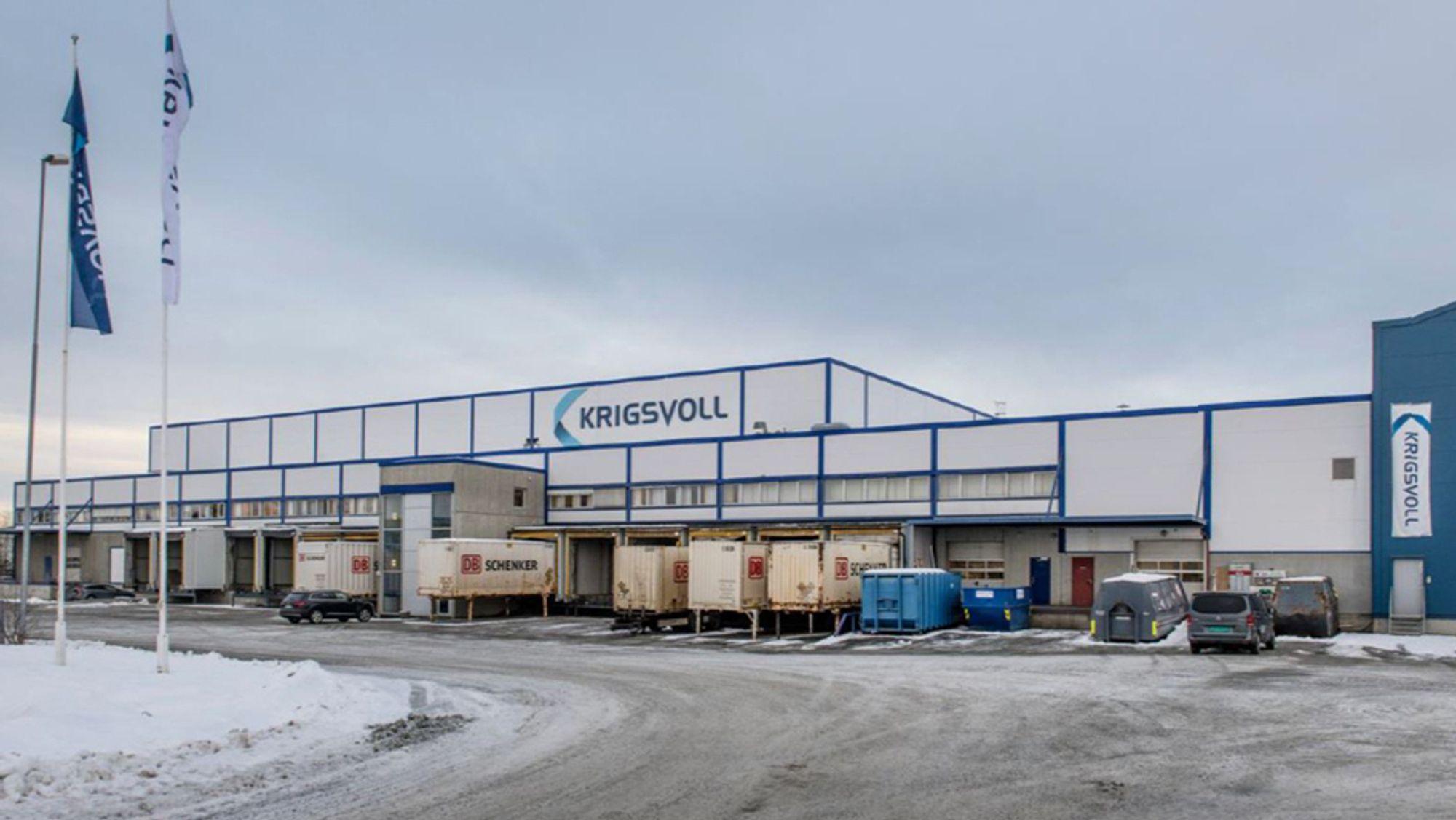 Krigsvoll AS har hovedkontor og -lager på Heimdal sør i Trondheim.