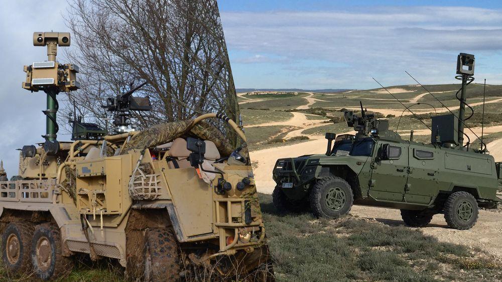 Sensorsystemene Hawkeye VS (t.v) fra britiske Chess Dynamics og SERT fra spanske Navantia vurderes integrert på 21 norske CV90 OPV etter at Forsvaret ikke ble fornøyd med Vingtaqs II fra Rheinmetall Norway.