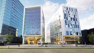 Bouvet har sendt avviksmelding til Datatilsynet. Bildet viser konsulentselskapets hovedkvarter på Majorstuen i Oslo.