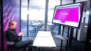 Den første testen jobbsøkerne til IT-selskapet må takle, er et mobilspill