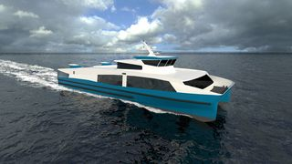 Krisemidler vil sette fart i nullutslipps hurtigbåt - kan være klar til 2022