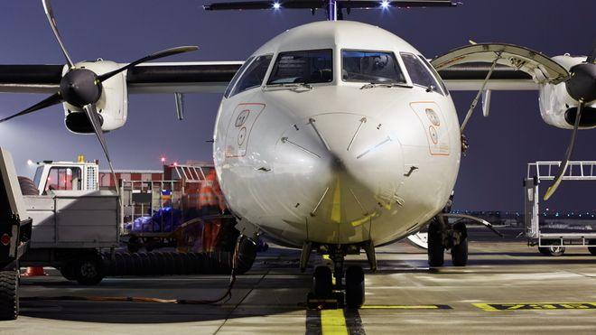 Parkerte fly gir utfordringer for værmeldingen