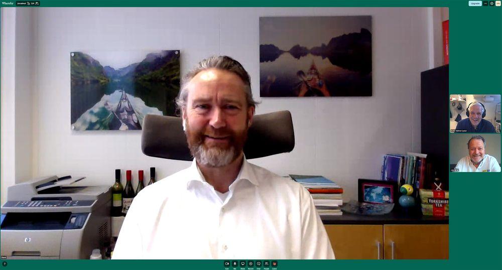 Samler inn tomgodset vårt: Adm. direktør i Infinitum AS, Kjell Olav A. Maldum leder et selskap som representerer en norsk verdensrekord.