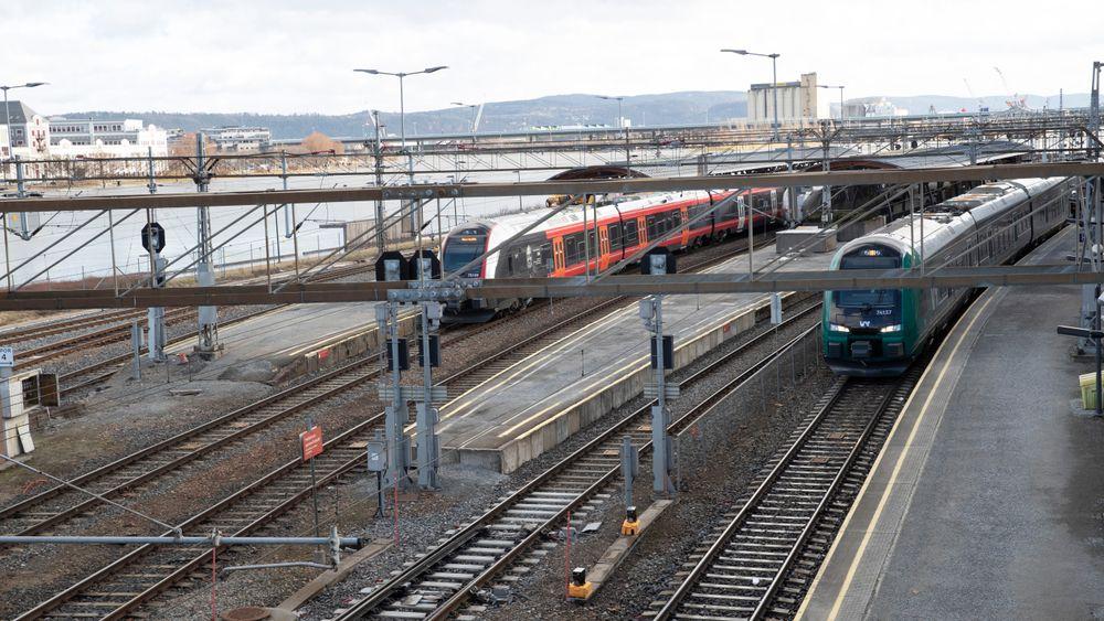Drammen får ny togstasjon som skal forsynes med strøm fra egne solcellepanel.