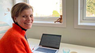 Telia-lederen fra hjemmekontoret:Det viktigste nå er å sikre samfunnskritiske funksjoner