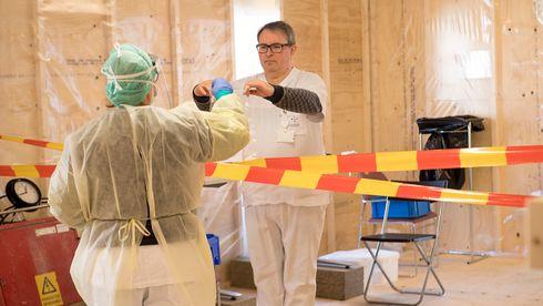 Haukeland sykehus bygger eget koronalaboratorium – tidobler testkapasiteten