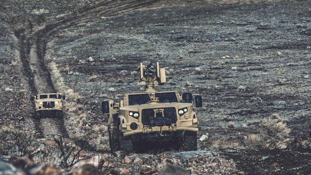 Litauen kjøper feltvogner av typen Oshkosh JLTV med Protector RWS fjernstyrte våpenstasjoner fra USA.