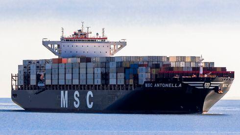 Konteinerskipet MSC Antonella
