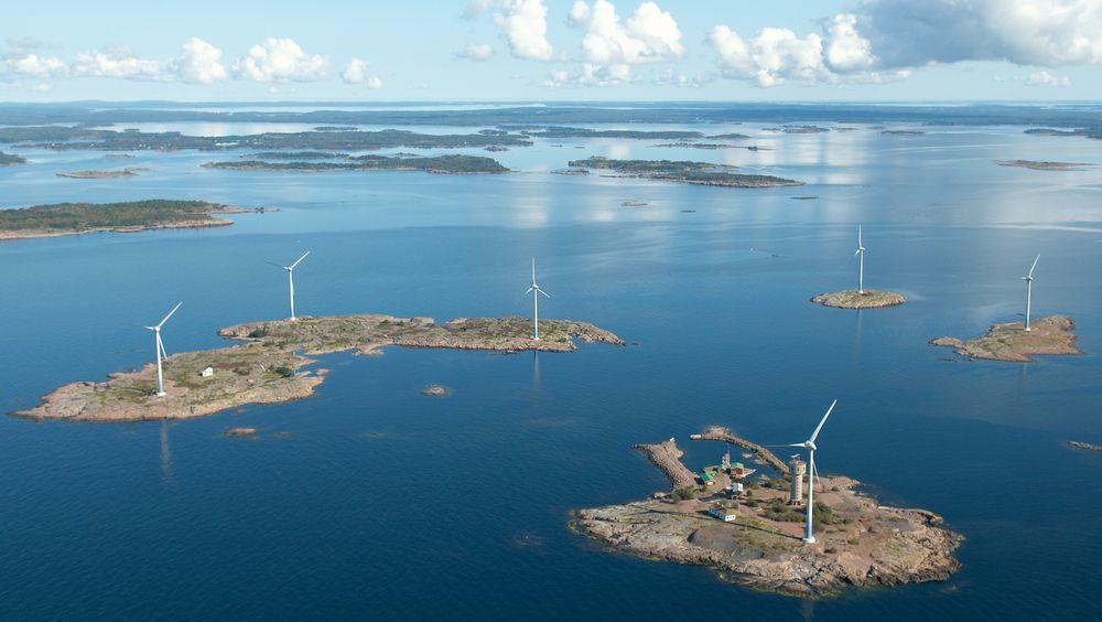 På denne holmen, Lilla Båtskär på Åland, ligger en nedlagt malmgruve fra 1950-tallet. Nå vil et svensk selskap bruke gruvegangene til å bygge pumpekraftverk med Østersjøen som øvre basseng.