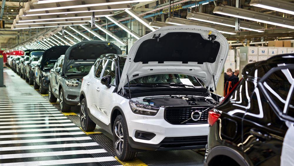 XC40 Recharge P8 blir Volvos første masseproduserte elbil.