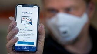 Smittestopp-appen skal hjelpe myndighetene med smittesporing, men kan også brukes til å varsle brukeren om at han eller hun har vært i nærheten av noen som er smittet av koronaviruset.