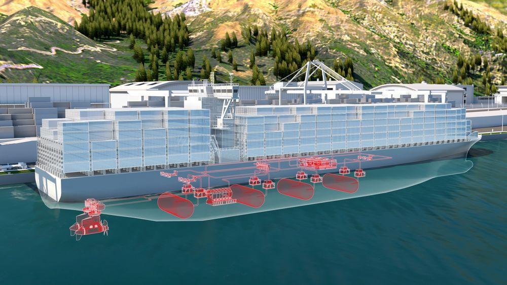 ABB og Hydrogène de France vil samarbeide om produksjon av brenselcellesystemer i megawatt-klassen for maritime anvendelser