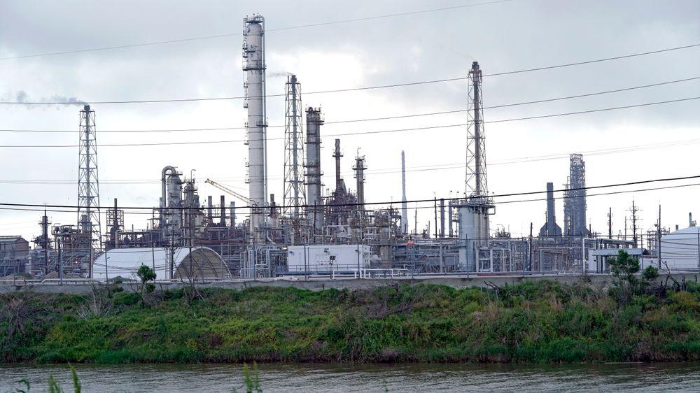 Motiva-raffineriet i Port Arthur i Texas er det største oljeraffineriet i Nord-Amerika.