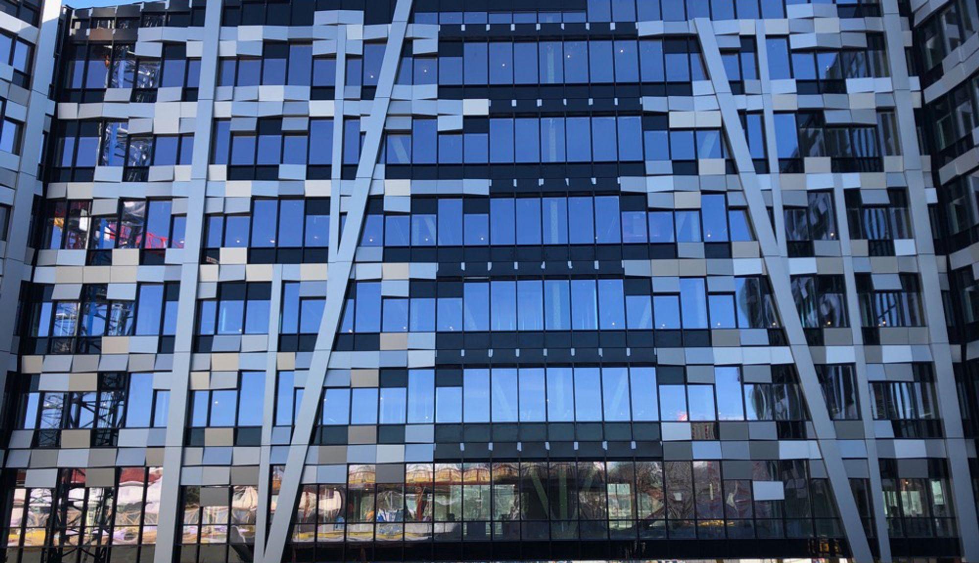 BRANDSTORY: Økern Portal blir kledd i resirkulert aluminium
