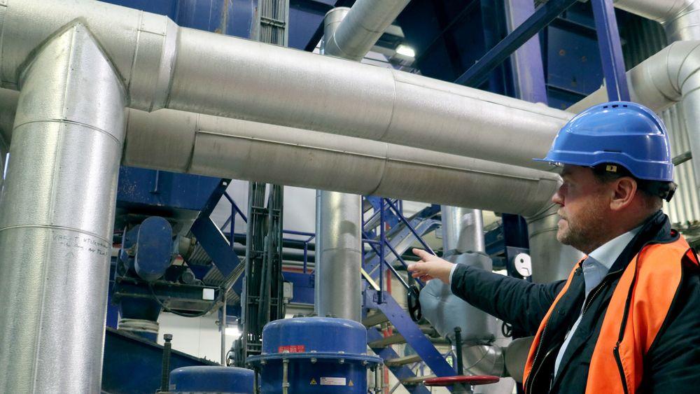 Norsk Fjernvarme tror at mange bedrifter kan ha overskuddsvarme som kunne vært koblet på fjernvarmenettet. Bildet er fra Fortum Oslo Varmes fjernvarmesentral på Klemetsrud.