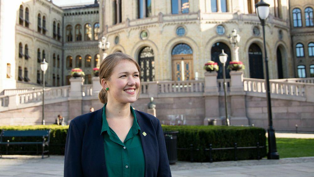 Stortingsrepresentant Une Bastholm er innstilt som MDG-leder før lørdagens digitale landsmøte.