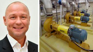 ABB pumper energieffektivisering klima pumpedrift friksjonsomformer elmotor