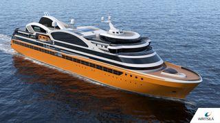 Designer seks nye cruiseskip på Stord