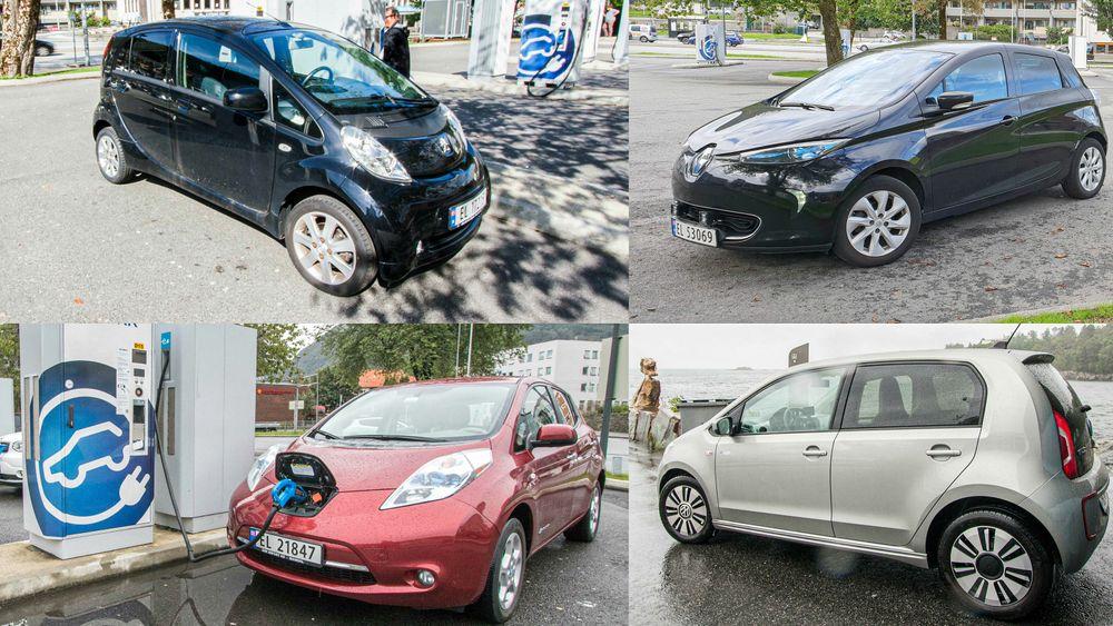 Brukte elbiler faller relativt raskt i verdi. Det har ulike årsaker, og det er ikke sikkert at det vil fortsette.