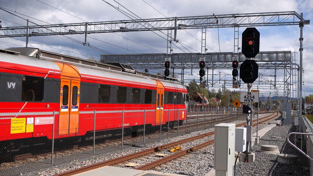 Uten den fjernstyrte oppgraderingen av signalanlegget ville det oppstått enda flere forsinkelser på Drammenbanen.