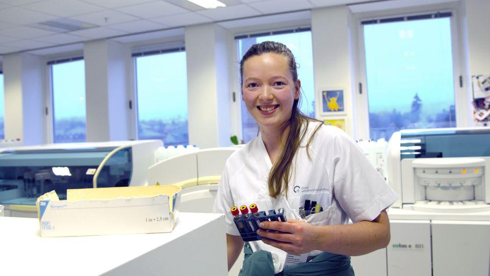 Bioingeniør Anne Tysvær jobber som fagsjef ved Ullevål universitetssykehus. (Arkivfoto)