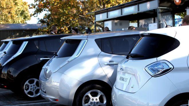 Tre bilprodusenter går sammen om å lage fire typer elbiler