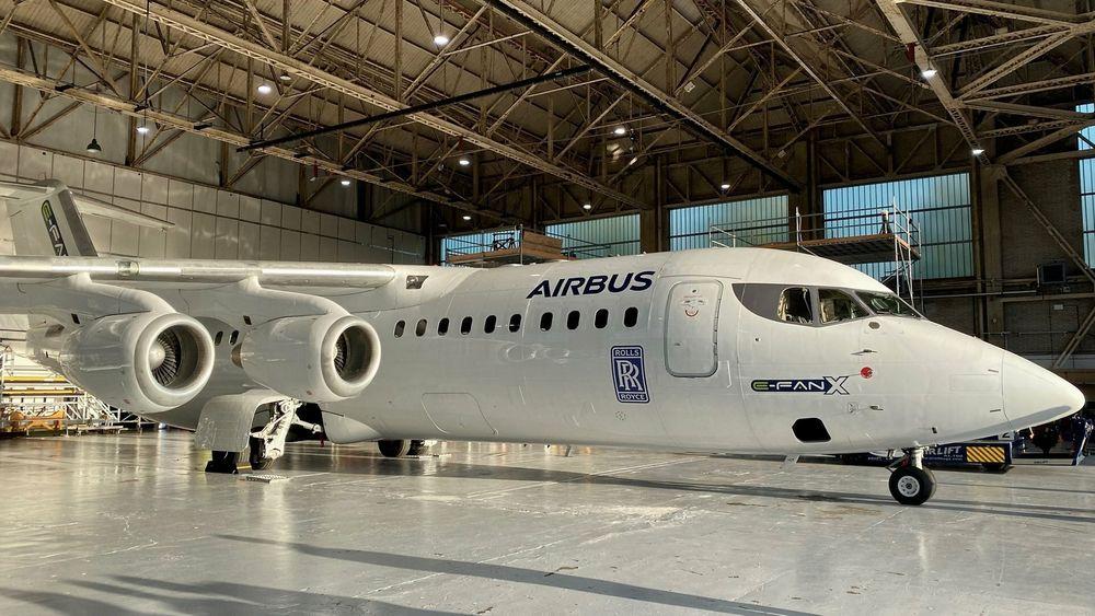 E-Fan X-plattformen, et BAe 146, kommer til å forbli på bakken. Prosjektet vil nå avsluttes, før flytestprogrammet kunne starte.