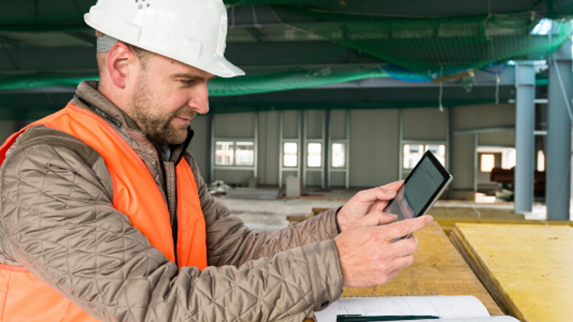 ANNONSE: Bygg- og anleggsbransjen underinvesterer i digital utvikling